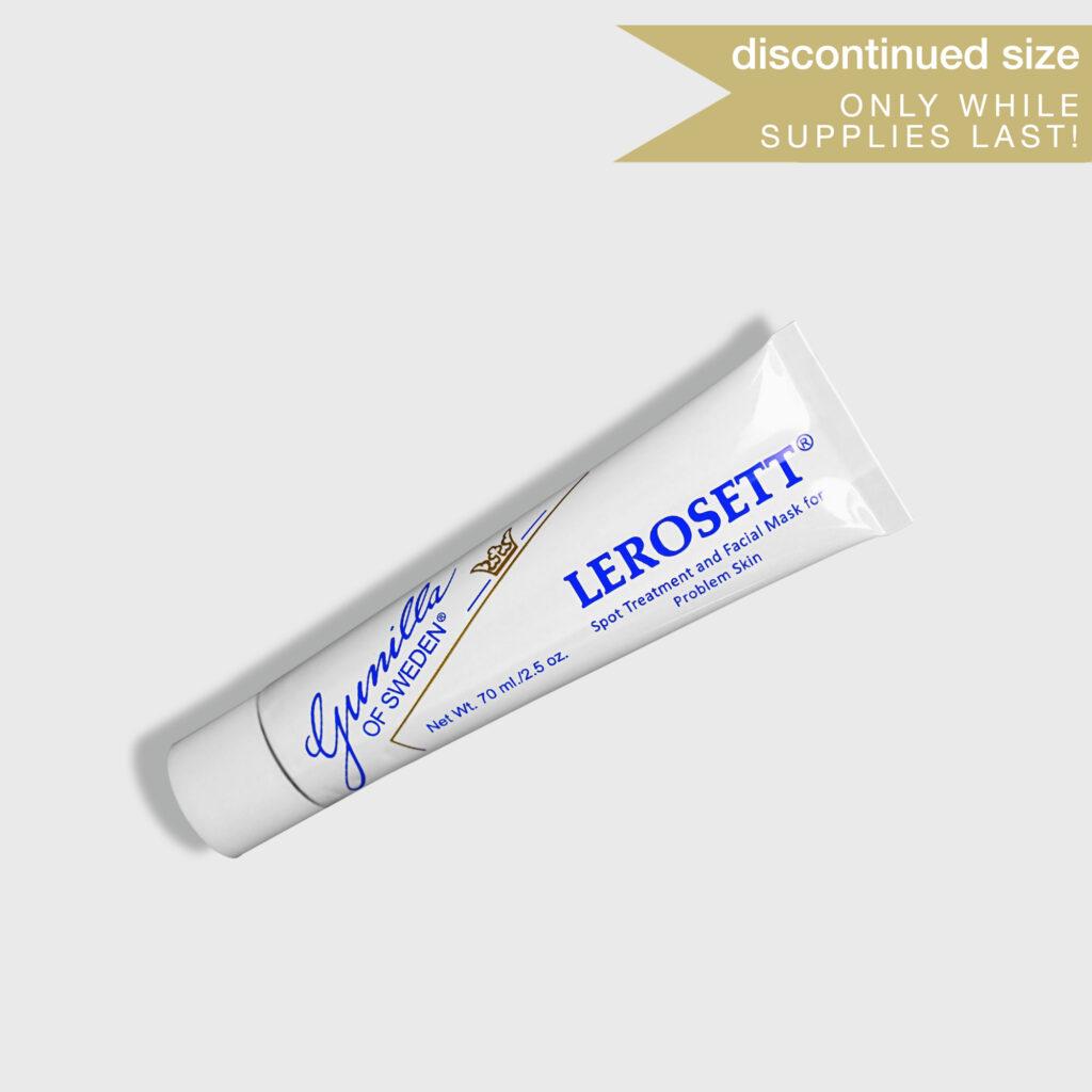 LEROSETT® Spot Treatment & Clay Mask | Original 2.5oz Tube