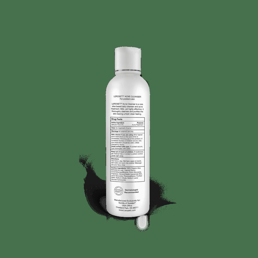 LEROSETT BEST Organic Acne Cleanser