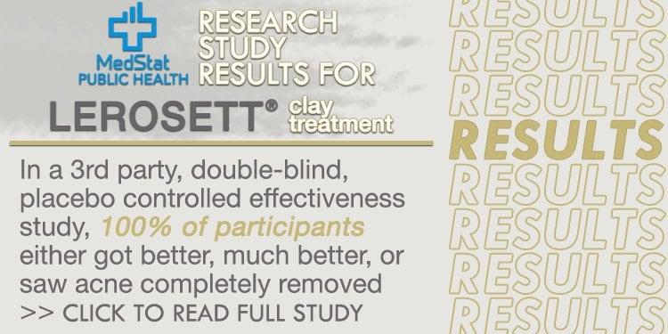 LEROSETT BEST ORGANIC ACNE TREATMENT