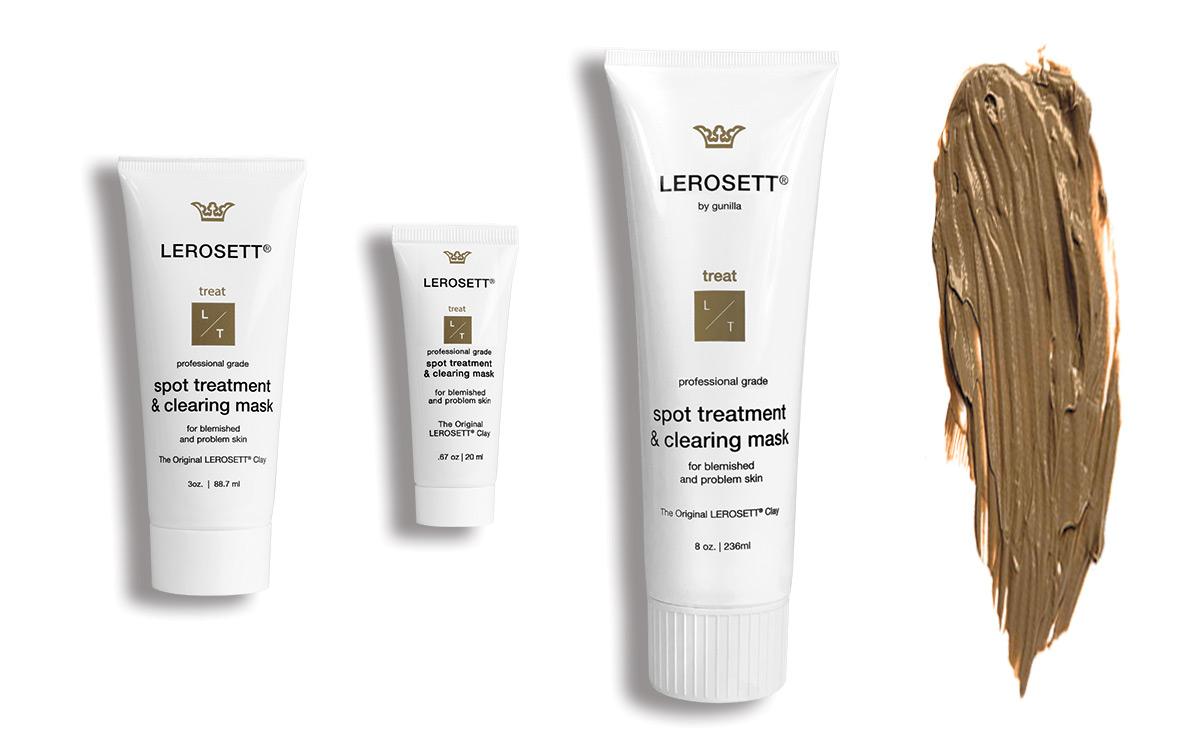 LEROSETT Facial Clay Mask